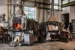 Murano Giant Furnace Stock Photography