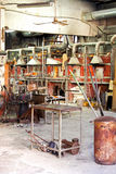 Murano glass factory Royalty Free Stock Photo