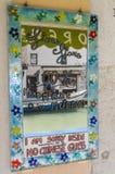 Murano glass island Stock Image