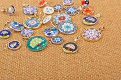 Murano glass jewelry Stock Images