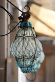Murano glass lamp Stock Photography