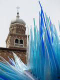 Murano glass sculpture Stock Image