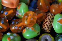 Murano Glass Stones Stock Images