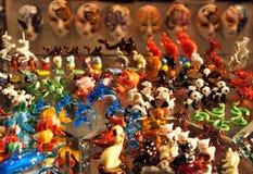 Murano glass in Venice, Italy Royalty Free Stock Photos