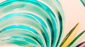 Murano-Glaszusammenfassung Stockbild