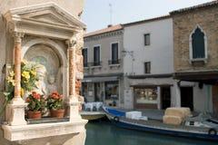 Murano Ikone, Venedig stockbild