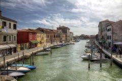 Murano Insel stockbild