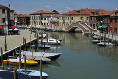 Murano Island. Image was taken in June 2011, on Murano Island, near Venice, Italy Stock Image