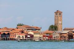Murano island and the Church of Santa Maria e San Donato. Stock Photography