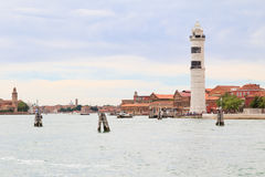 Murano island close to Venice Royalty Free Stock Images