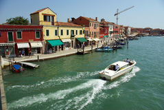 Murano Island - Italy Royalty Free Stock Photography