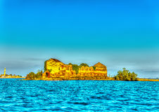 In Murano island near Venice in Italy Stock Images