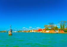 In Murano island near Venice in Italy stock photos