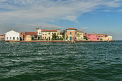 Murano Island - near Venice, Italy. Image was taken on September 2014 in Italy Royalty Free Stock Photo