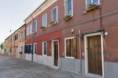 Murano island old architecture. Venice, Italy Stock Image
