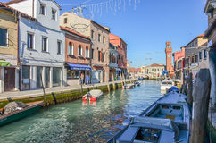 Murano island of Venice Royalty Free Stock Photos