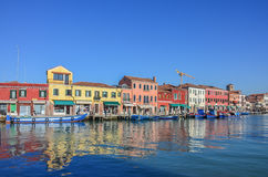 Murano island of Venice Stock Images