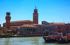 Murano island Stock Photography
