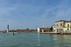 Murano,  Italy, small island near Venice, famous for blown glass. Stock Photography