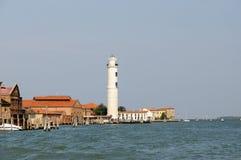 Murano-Leuchtturm lizenzfreies stockbild