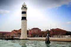 Murano Lighthouse Royalty Free Stock Photo