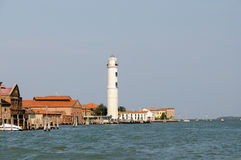 Murano lighthouse royalty free stock image