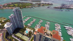 Murano-Miami Beach-Antennenvideo stock footage