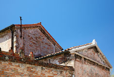 Murano old buildings, Veneto, Italy Royalty Free Stock Images