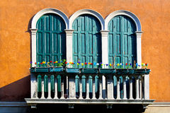 Murano terrace Stock Photography