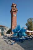 Murano tower Royalty Free Stock Photo