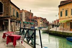 Murano in Venedig Stockbild