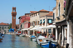 Murano, Venedig Stockfotos