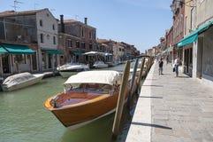 Murano Venedig, Italien Arkivbilder