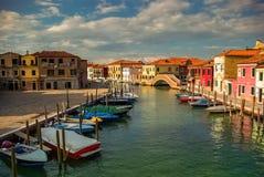 Murano - Venetian beautiful island of art glass Stock Image