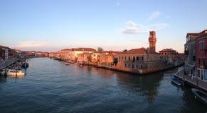 Murano Venezia,意大利 免版税库存图片