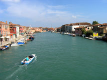 Murano, Venice - Italy. The island of Murano in Italy (off of Venice Royalty Free Stock Photos