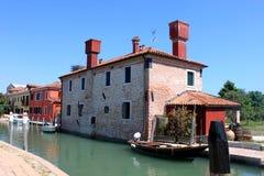 Murano in Venice, Italy. Murano in Venice, at the entrance Royalty Free Stock Image