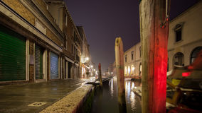 Murano Venice by night Stock Image