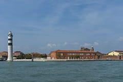 Murano, Włochy, mała wyspa blisko Wenecja, sławnego dla wystrzelonego szkła obraz royalty free