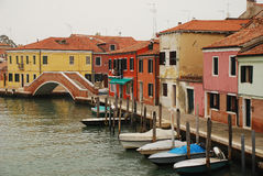 Murano Waterfront Stock Photography