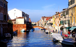 Murano Waterway Royalty Free Stock Photos