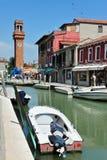 Murano wyspa w Weneckiej lagunie, Włochy Zdjęcia Royalty Free