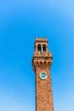 Murano zegarowy wierza Obraz Stock