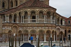 Muranoeiland, Venetië, Italië stock afbeelding