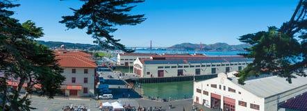 Murare för fort för San Francisco ` s Royaltyfri Bild