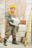 murarza budowy kamieniarstwa pracy Obraz Royalty Free