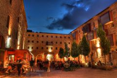 Murate在佛罗伦萨,托斯卡纳,意大利 免版税库存图片