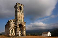 Murato da arquitetura de Córsega Foto de Stock