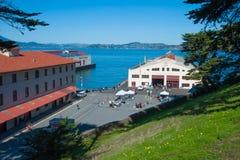 Muratore della fortificazione del ` s di San Francisco Fotografia Stock