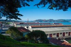 Muratore della fortificazione del ` s di San Francisco Immagini Stock Libere da Diritti